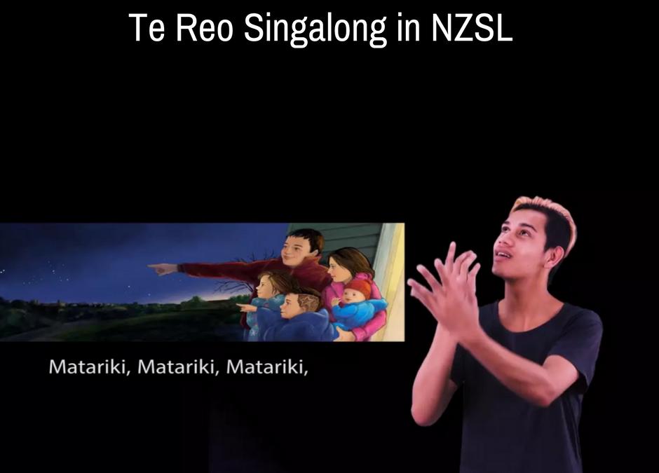 Te Reo Singalong in NZSL