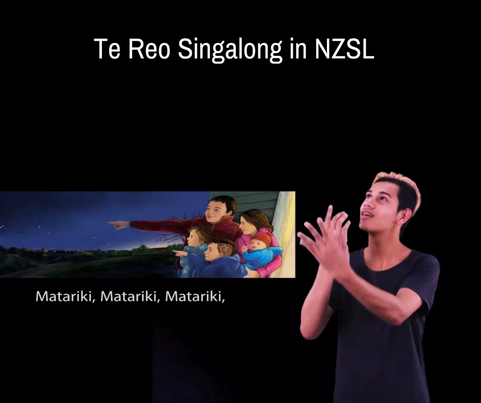 Te Reo Singalong in NZSL